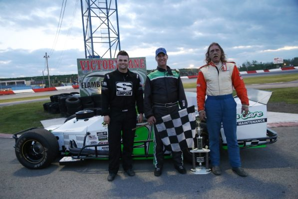OSCAAR Mods Top Three 2017 Flamboro Speedway