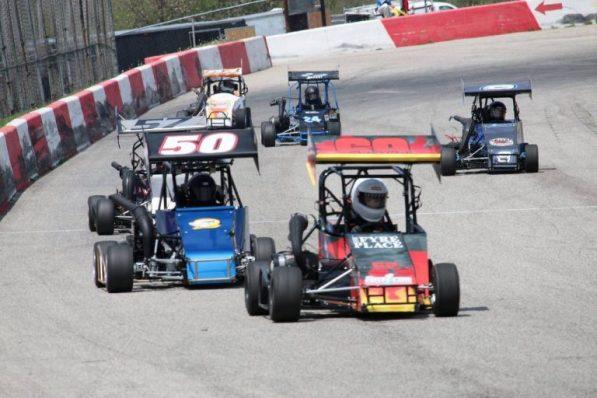 OSCAAR Midget Series Grand Bend Speedway 2017