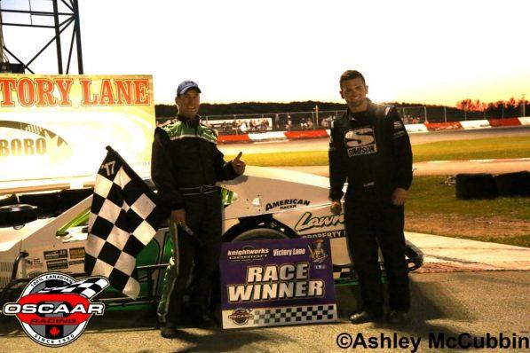 Chris Milwain Feature Winner at Flamboro Speedway 2017