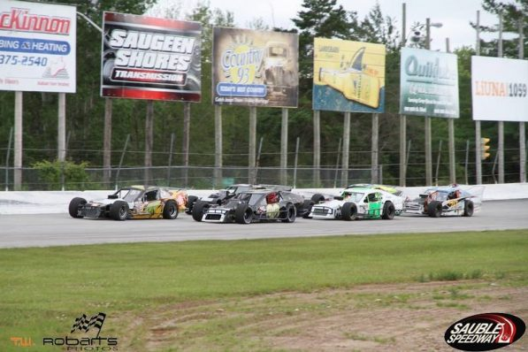 OSCAAR Modifieds at Sauble Speedway 2017