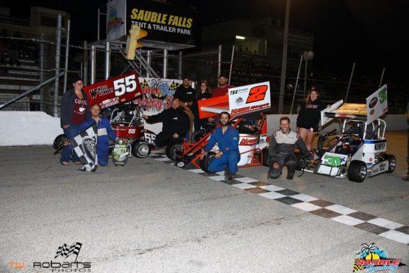 OSCAAR Pro Midget at Sauble Speedway