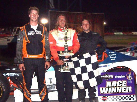 OSCAAR Modifieds Top 3 at Flamboro Speedway