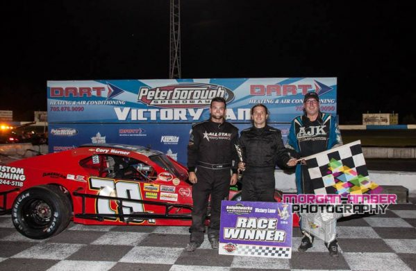 OSCAAR Modified Top 3 at Peterborough Speedway