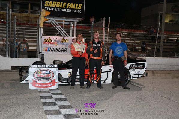 Modified Top 3 at Sauble Speedway