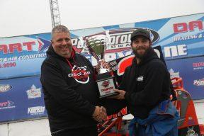 OSCAAR Pro Sprint Champion Dan Hawn