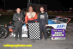 OSCAAR Modifieds Top Three at Flamboro Speedway