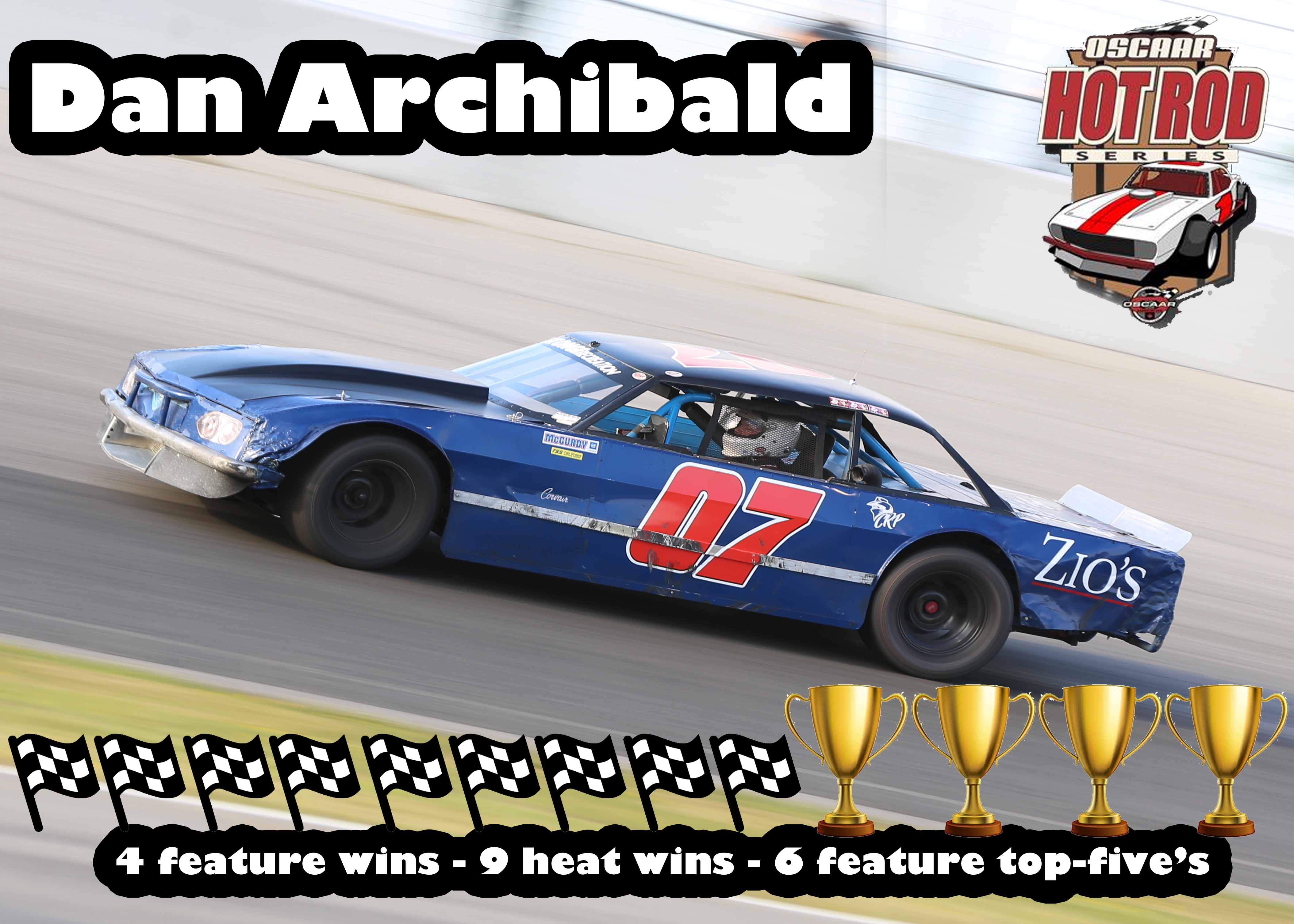 8th Hot Rod Dan Archibald