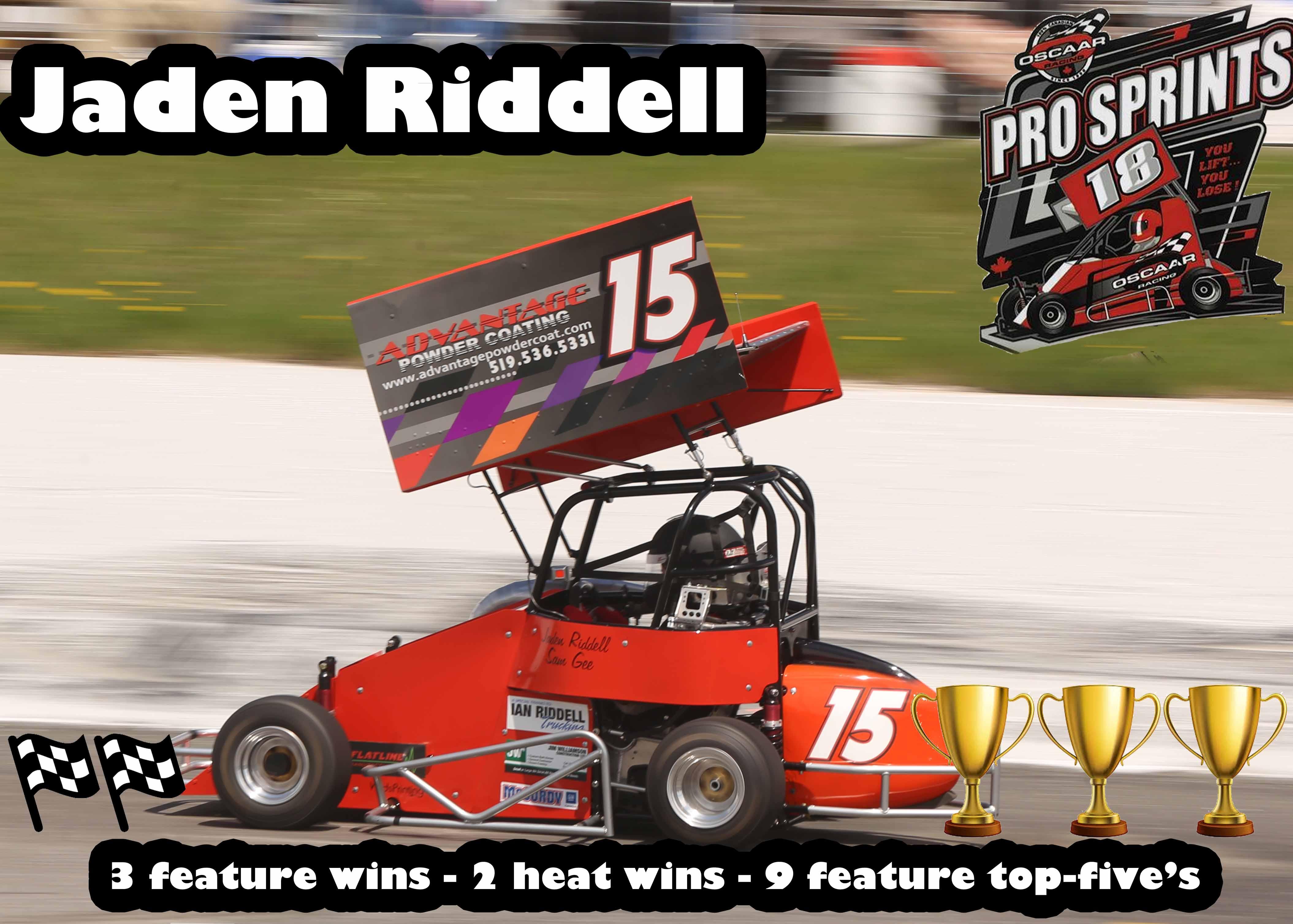 2nd Pro Sprint Jaden Riddel