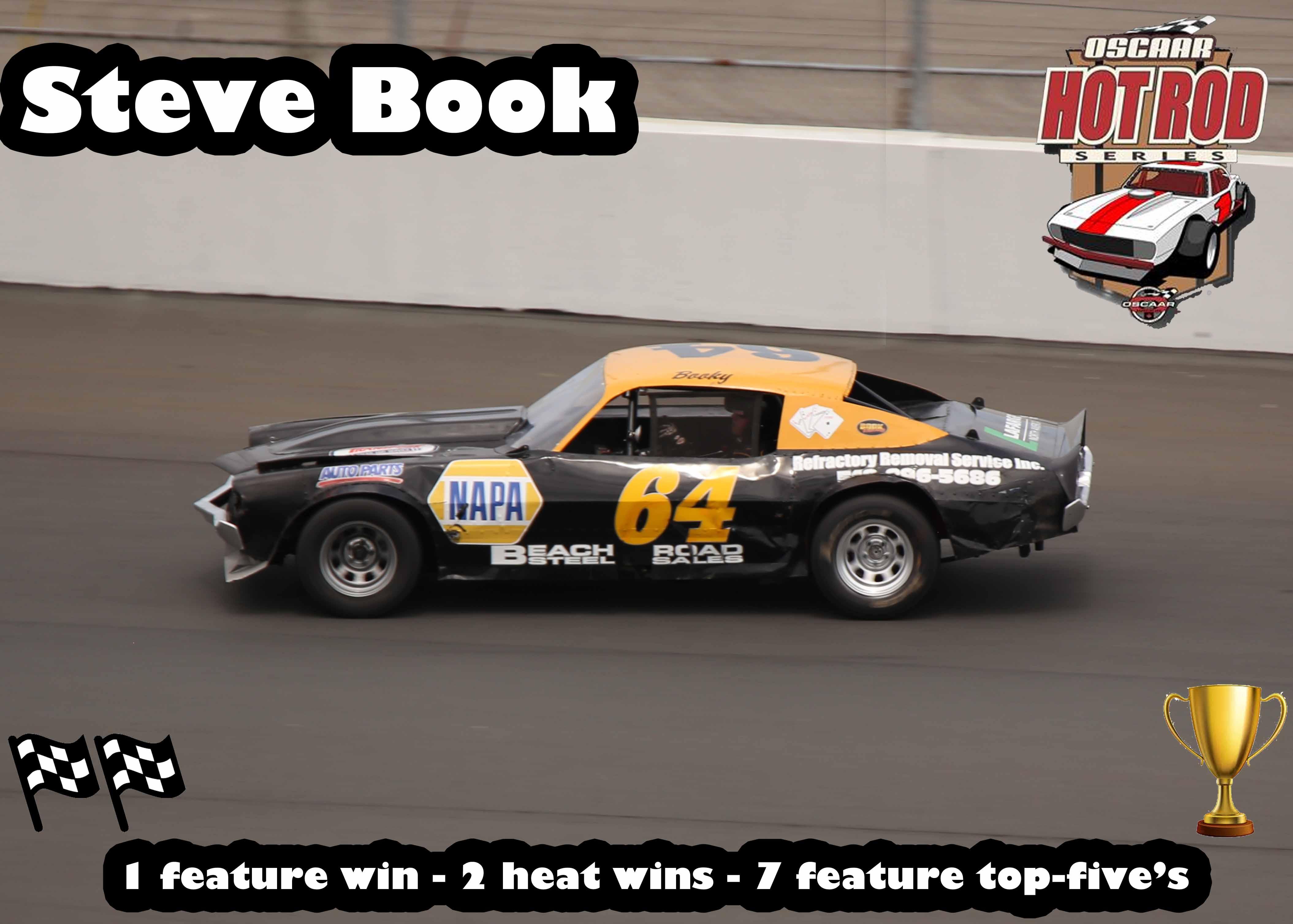 3rd Hot Rod Steve Book