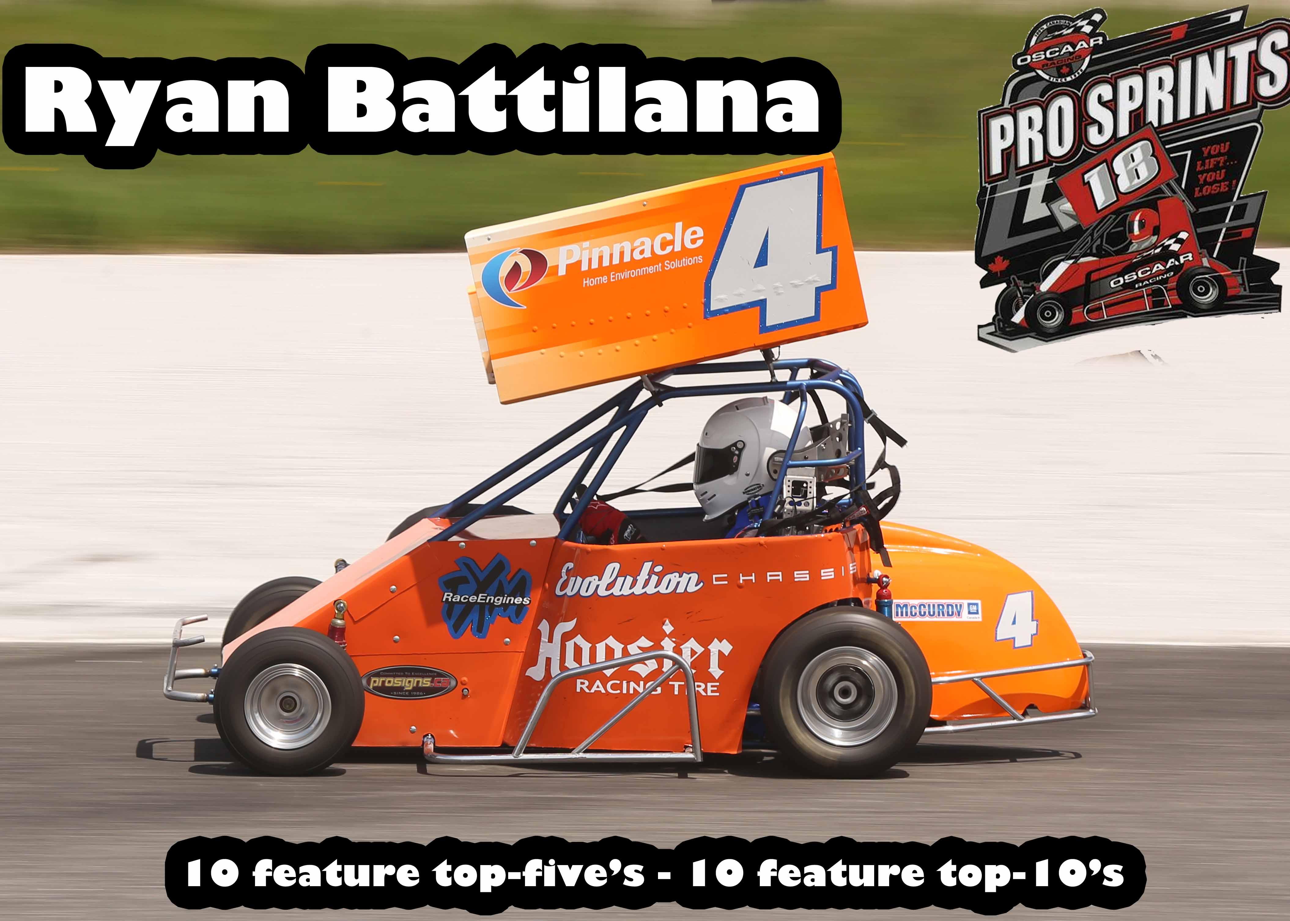 4th Pro Sprint Ryan Battilana