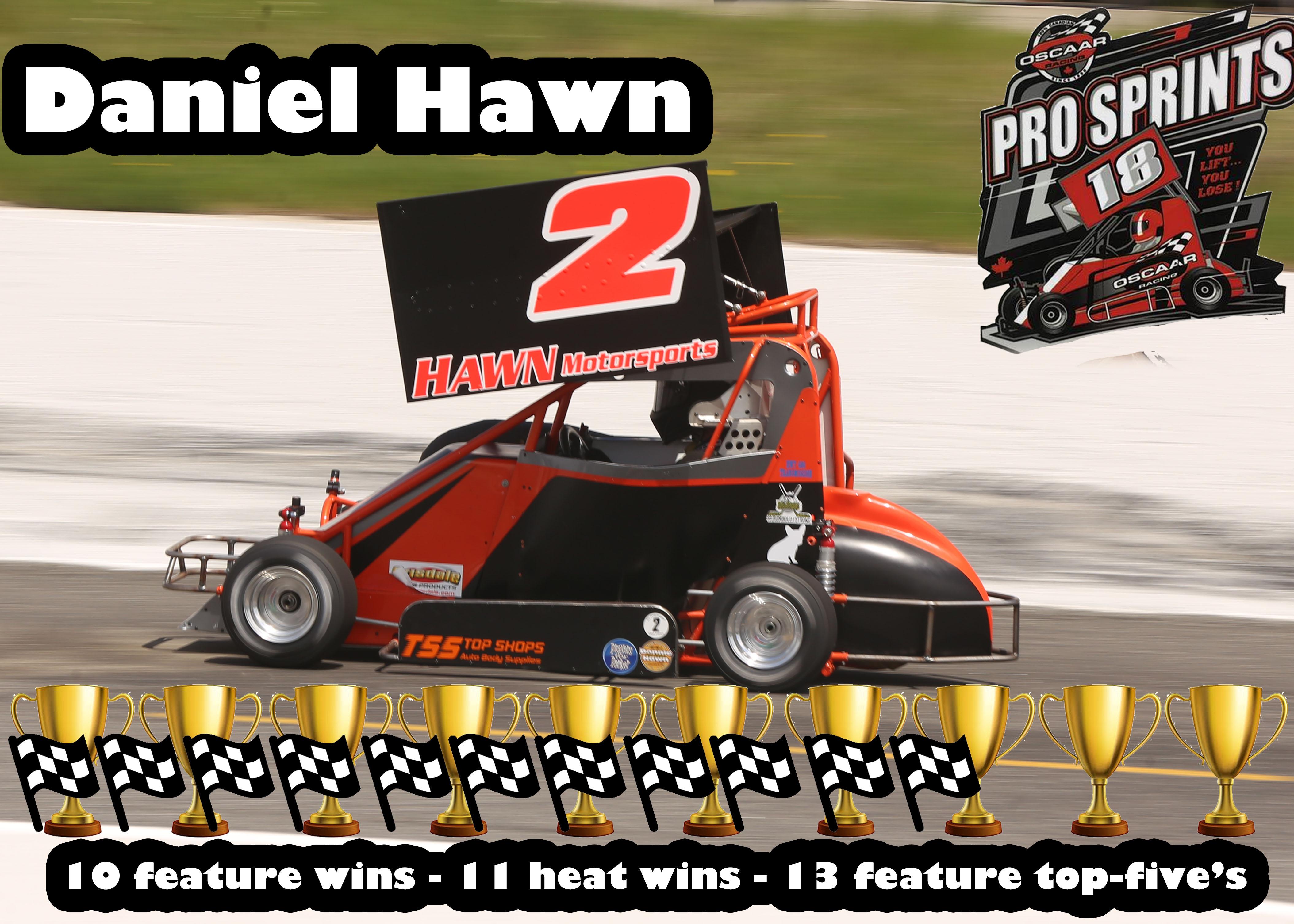 1st Pro Sprint Daniel Hawn