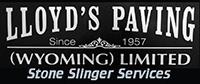 Lloyd's Paving Stone Slinger Services
