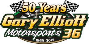 Gary Elliott 50 Yr Logo