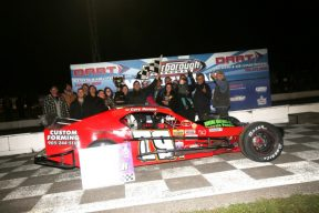 Cory Horner Feature Win at Peterborough Speedway 2018