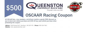 Queenston Chev Coupon